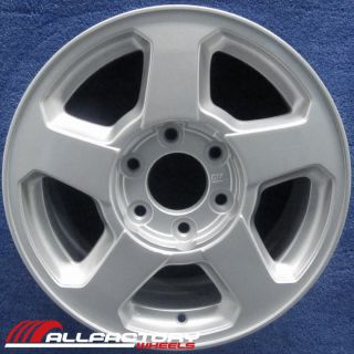 "Chevy Trailblazer 16"" 2002 2003 2004 2005 2006 Factory Rim Wheel Silver 5140"