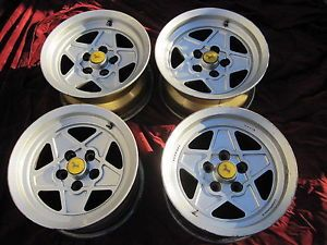 "Ferrari 308 Wheels Rims Set of 4 Four 14X7 5"" Campagnolo 40899 Mondial"