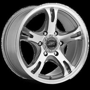 "18"" American Racing Silver AR898 6x5 5 Colorado Hummer Escalade QX56 Rims Wheels"