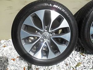 "17"" Factory 2013 Honda Accord Wheels Rims Tires Mint"