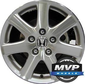 "Factory 16"" Honda Accord Coupe Wheel Rim ALY64000U10"