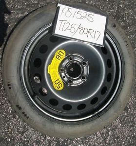 "Compact Spare Tire Wheel 2002 Volvo V70 Wagon 17"" Space Saver Donut"