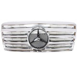 Grille Insert New E Class MB Chrome Mercedes Benz E320 124 Chassis 300CE 95 1995