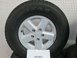 07 08 Jeep Wrangler Wheels and Tires 16 inch Alloy Rims P245 75R16 Set of 4
