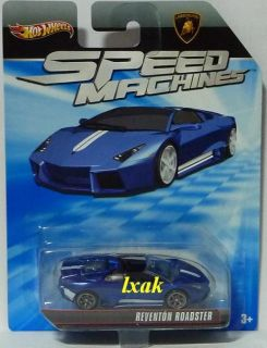 Hot Wheels Speed Machines Lamborghini Reventon Roadster Blue