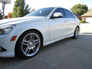 18'' Mercedes Benz AMG Chrome Wheels Continental C250 C300 C350 E Class