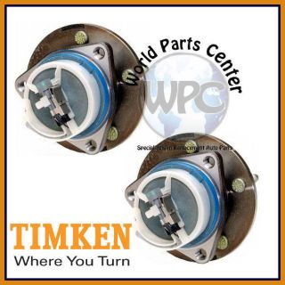TIMKEN 2 Rear Wheel Bearing Hub Buick Rendezvous Front Wheel Drive 4 Wheel ABS