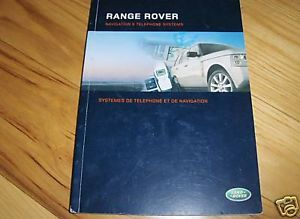 2006 Land Rover Range Rover Navigation Owners Manual