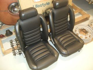 1969 Alfa Romeo GTV Front Seats Original Great Condition