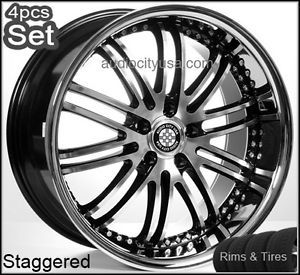 20inch for Mercedes Benz Wheels and Tires Staggered Rims C CL s E