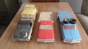 Vintage 1969 Chevy GMC Truck Wedge Race Car Haulers for Parts Rebuild 1 25