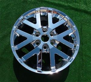 4 New Original Genuine GM Factory Buick Enclave Chrome 19 inch RV022 Wheels