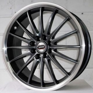 "17"" Mini Coupe John Cooper Works Team Dynamics Jet Gun Pol Alloy Wheels 4x100"