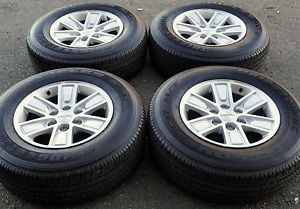 "17"" GMC Sierra Yukon 1500 Truck Wheels Rims Tires Factory Wheels 2014'"