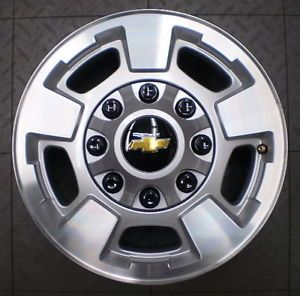 "5500 2012 Chevy GMC 2500 3500 Silverado HD 17"" Factory Alloy Wheels Rims 4"