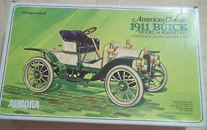Aurora Parts SEALED RARE 1911 Buick Model 14 Roadster 1 16 Scale Model Car Kit