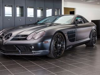 2005 Mercedes Benz SLR McLaren Metallic Black 20 HRE Carbon Fiber Rims 13K MI