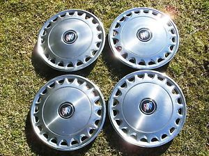 Genuine 1987 1988 1989 1990 Buick Skylark 13 inch Metal Hubcaps Wheel Covers