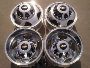 5520 Chevy 3500 HD Silverado GMC Sierra Alcoa Dually Wheels Rims 2011 2012