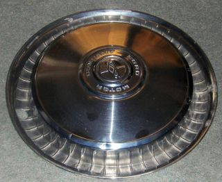 1971 1972 Ford Hubcap Wheel Cover 15""