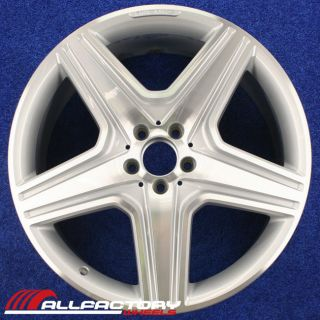 "Mercedes ML550 ml Series 21"" 2010 2011 AMG Factory Rim Wheel CNCS Rear 98114"