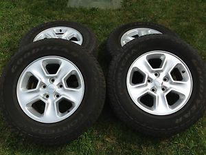 2014 Jeep Grand Cherokee Tires Wheels
