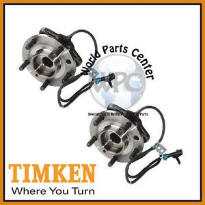 TIMKEN 2 Front Wheel Bearing Hub Assembly Fits Chevy GMC Isuzu Olds Pair Set Two