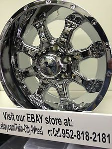 16 inch Chrome Raceline Assault Wheels Rims GMC Sierra Yukon Hummer H3 Canyon