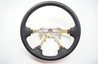 Isuzu Rodeo 1996 2002 and Honda Passport 1995 2002 Steering Wheel Black Leather