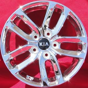 "16"" Kia Optima Wheel Rim Factory Silver 2010 2011 2012 2013 New Chrome"