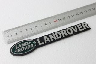 Land Rover Decal Badge Discovery 2 3 4 Freelander 2 ATK Replacement