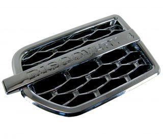 Chrome Front Wing Side Air Intake Grille Vents for Land Rover Discovery 4 LR4