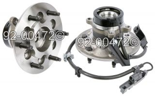 Pair Chevrolet Colorado GMC Canyon Isuzu I Series Z85 Front Wheel Hub Assembly