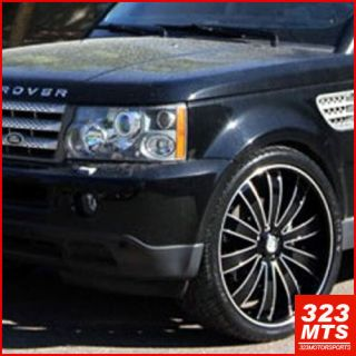 "24 inch Wheels Versante VE225 Land Rover Wheels ""5x120"""