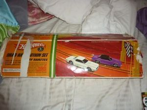 Vintage Mattel Hot Wheels Redline Era Action Set Drag Action Race Track No Cars