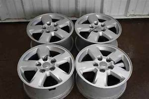 "12 Jeep Grand Cherokee 17"" Wheels Rims Set LKQ"