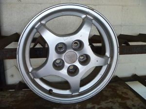 "97 98 99 Mitsubishi Eclipse Wheel 16x6 Alloy 5 Spoke 16"" Rim 336405"
