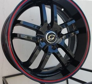 18 Wheel Rims 4x108 Ford Focus SVT Escort Saab 9000 9 5