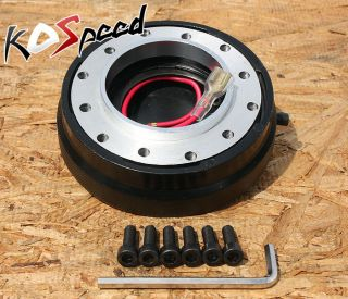 "1 5""Thin Steering Wheel Short Quick Release Hub Adapter"