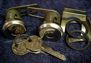 GM Door Locks with Rochester Keys Chevy Vette Pontiac Buick Olds 1955 1966