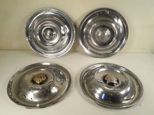 Original Vintage 1950 1951 1952 1953 Oldsmobile Hubcaps Wheel Covers Hub Caps