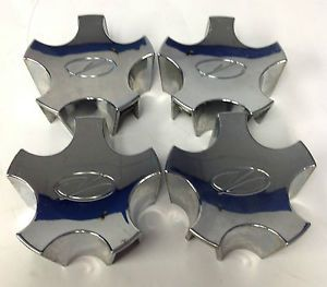 Set 4 Oldsmobile Silhouette Factory Chrome Wheel Center Cap 9593054 Hol 6031