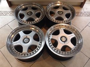 "17"" oz Racing Pegasus PG1 Hamann Alloy Wheel Split Rims 5x112 BBs VW Golf Merc"