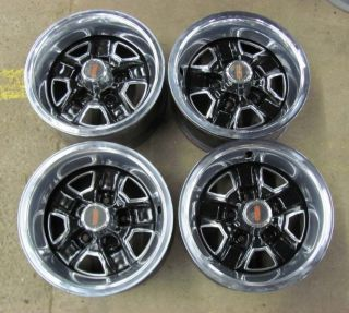 Oldsmobile 14x6 SS II Wheels Trim Rims Olds Set 4
