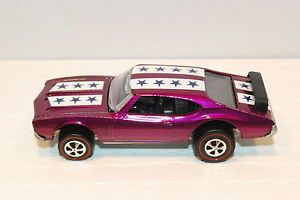 Purple Olds 442 Restored Customized Redline Hot Wheels