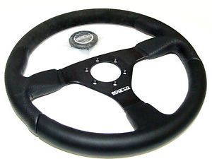 Sparco Steering Wheel L505 350mm 33mm Dish Alcantara Leather