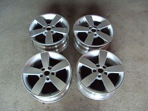 "2005 2006 Pontiac GTO Aluminum Wheels 18"" Factory Silver Set"