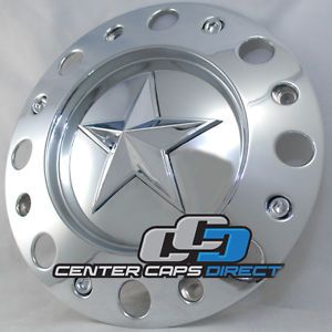 Rockstar 775L239 KMC Wheels Chrome Center Cap Dually