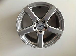 Moda EB1 18x8 5x120 35mm Hyper Silver Aftermarket Wheel 508018352513HS