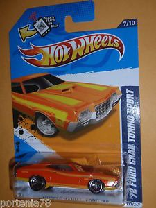 2012 Hot Wheels 1972 Ford Gran Torino Sport 7 10 Muscle Mania Ford  Color
